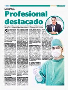 Profesional Destacado – Diario El Día